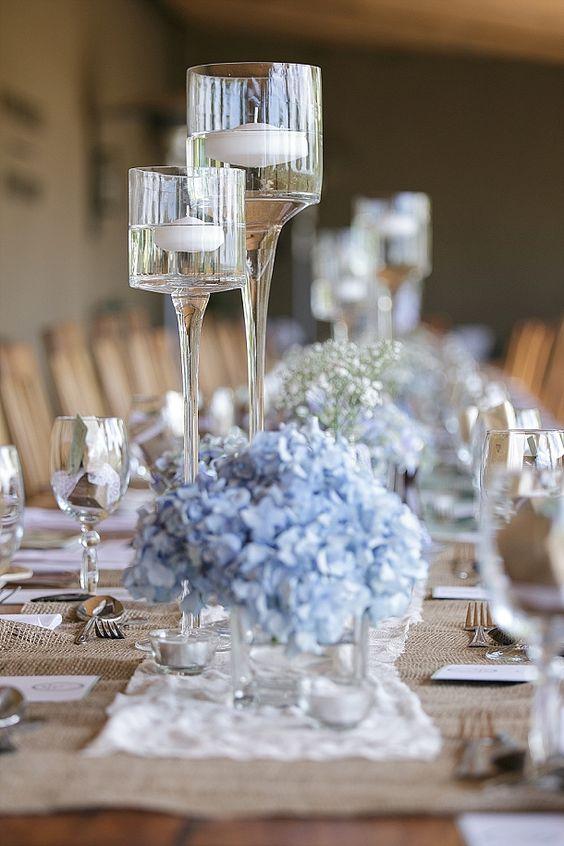 ウエディングブルー結婚式アイデア