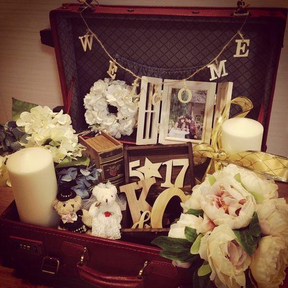 結婚式ウエルカムトランク