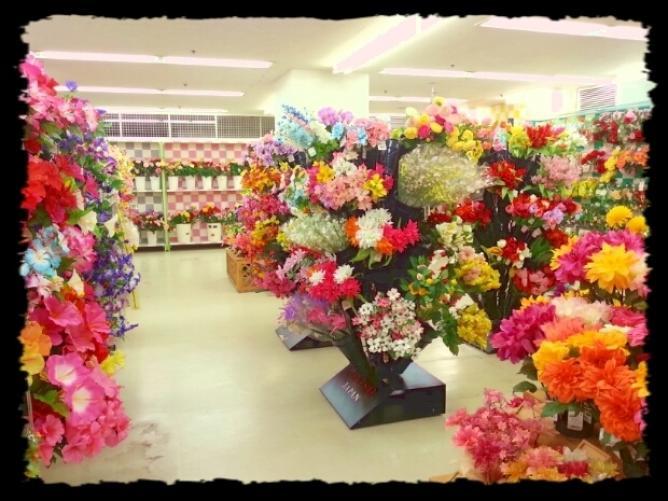 ダイソー造花