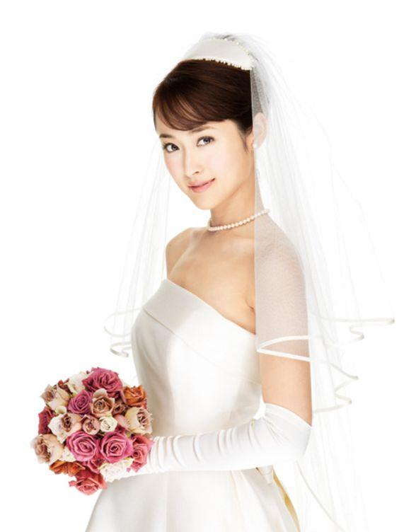 結婚式髪型ボンネ