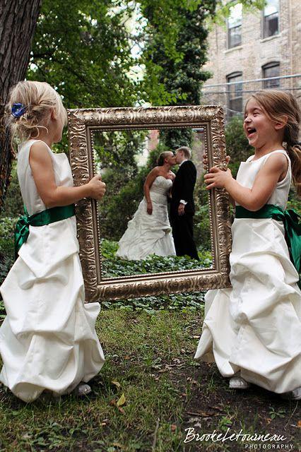 結婚式フレーム写真