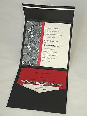 3結婚式和風招待状