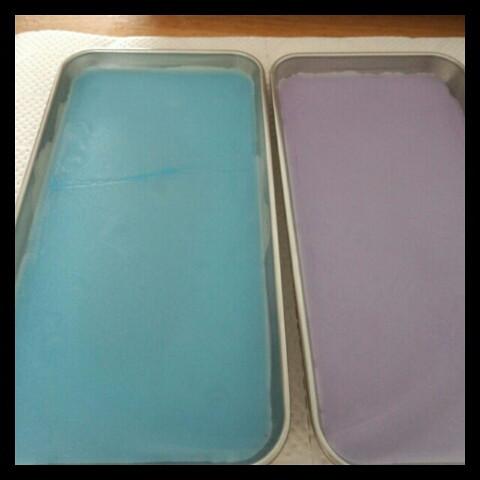 タイルチップキャンドル作り方