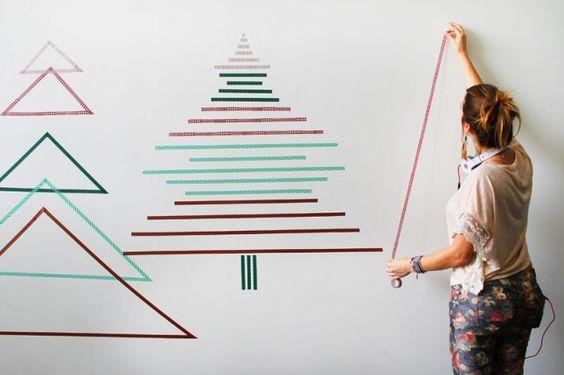 マステクリスマスツリー