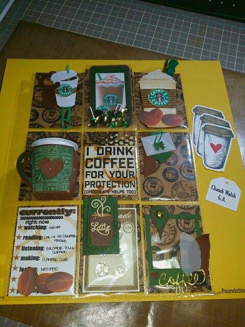 4スターバックスコーヒーポケットレターアイデア