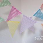 折り紙ガーランド