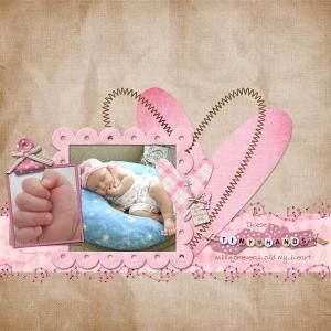 16赤ちゃんアルバムスクラップブッキング