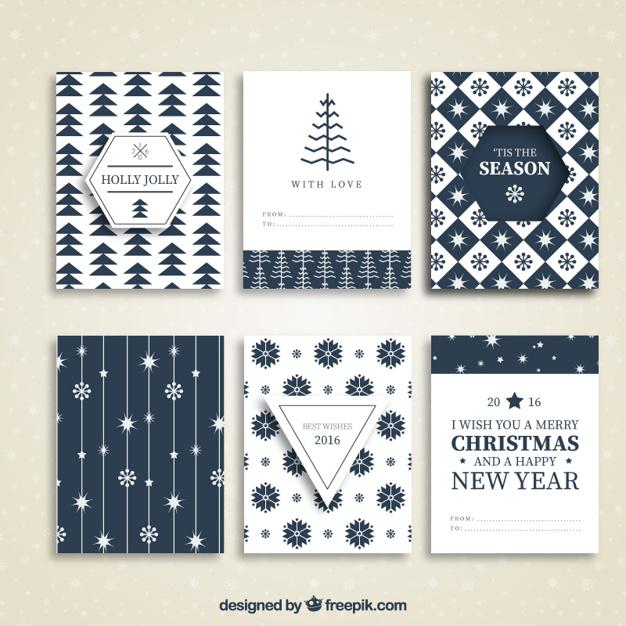 10クリスマスカード無料ダウンロード素材