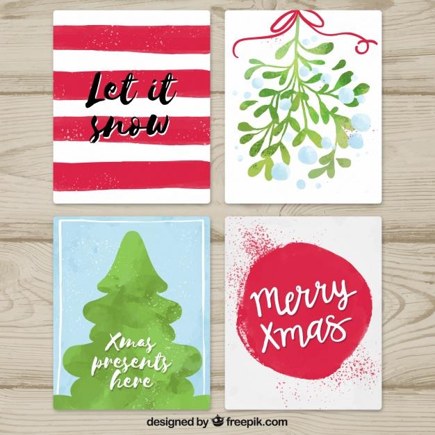 13クリスマスカード無料ダウンロード素材