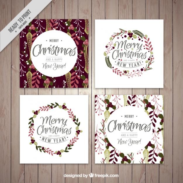 26クリスマスカード無料ダウンロード素材