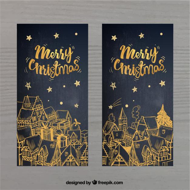7クリスマスカード無料ダウンロード素材