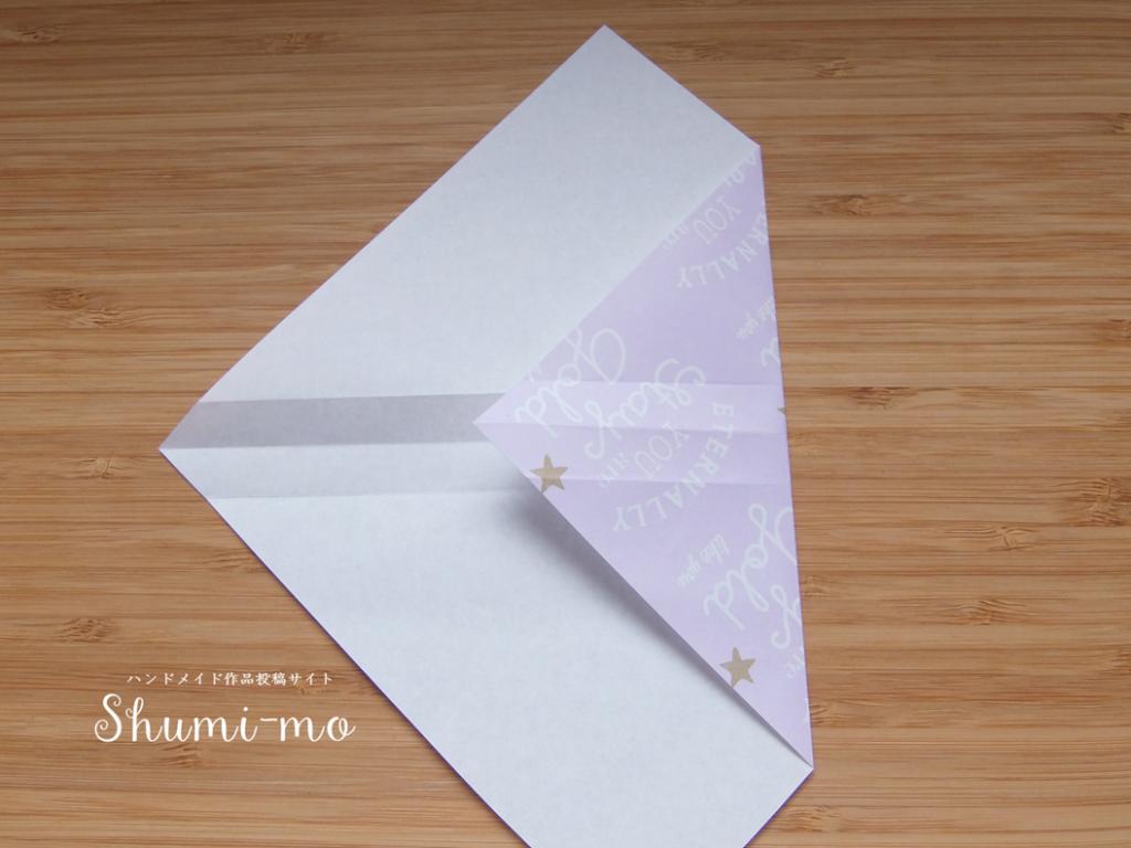 折り紙ティーバッグホルダー5