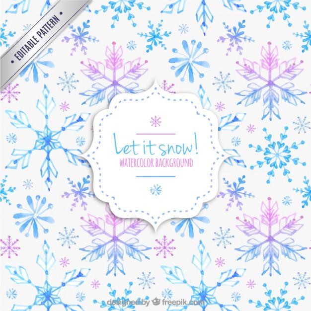 21水彩アートクリスマスラッピングペーパー包装紙無料パターン素材