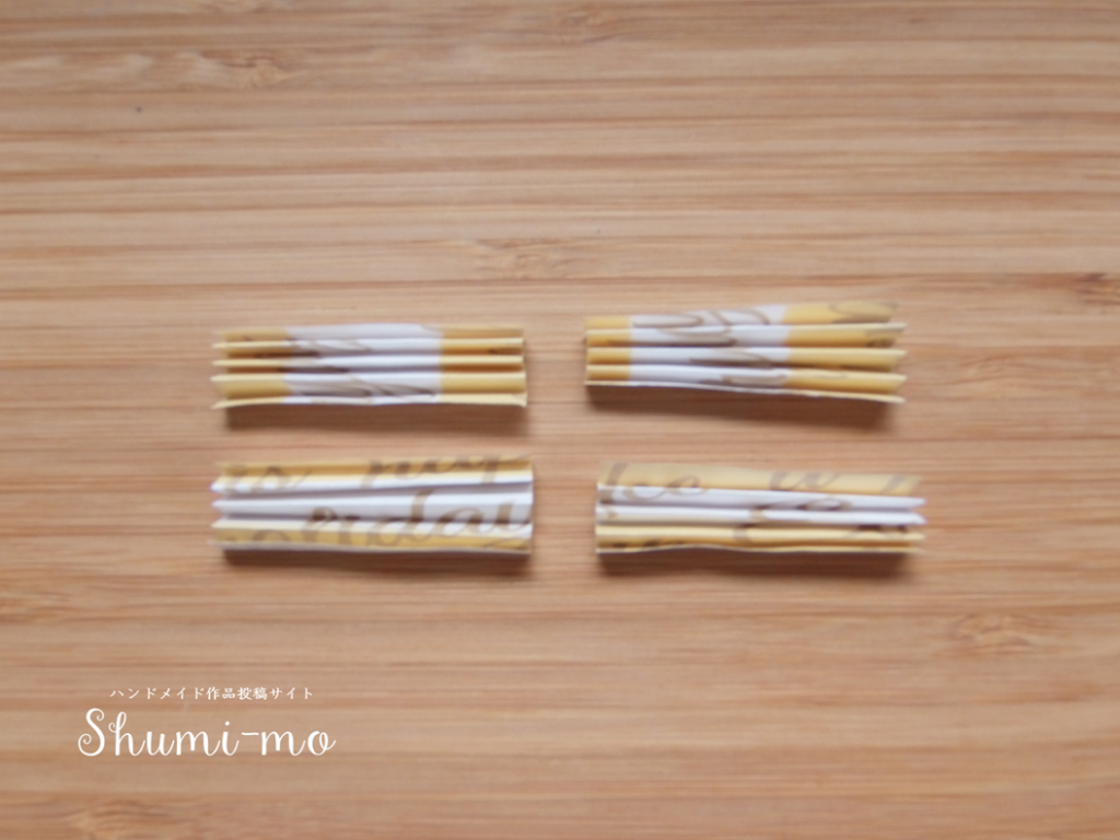 折り紙ティーバッグホルダー12