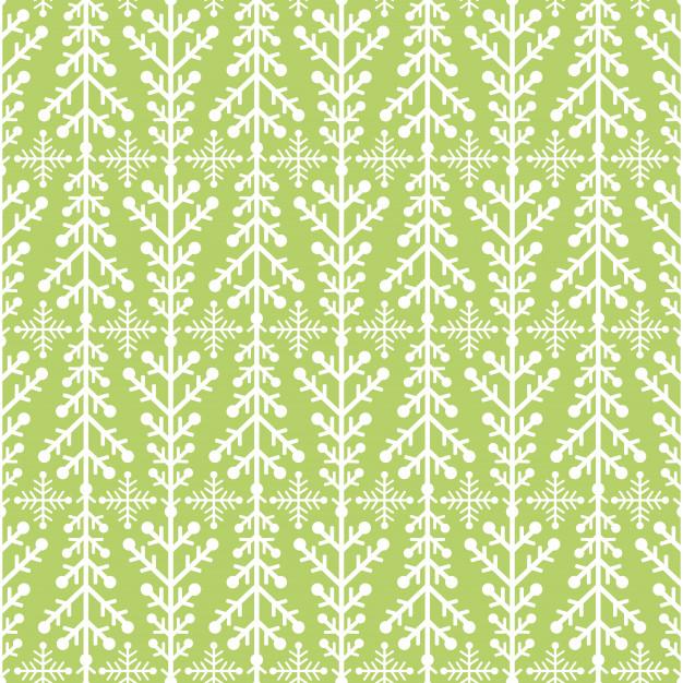 7グリーン緑色クリスマスラッピングペーパ