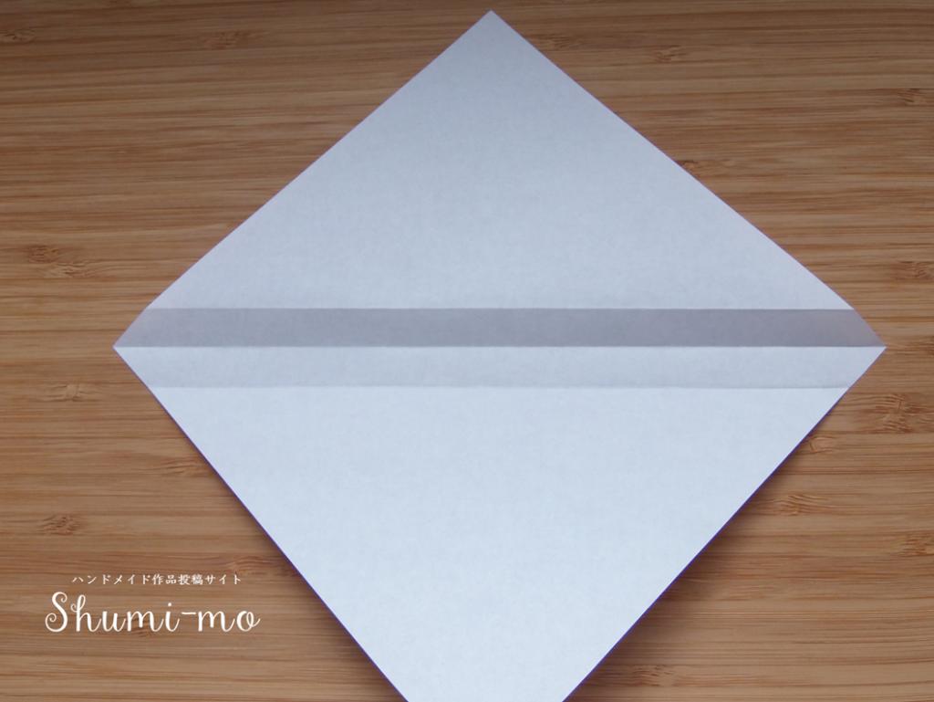 折り紙ティーバッグホルダー4