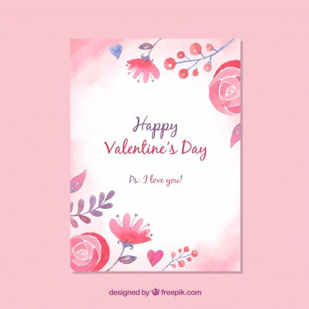 9バレンタインカード無料素材