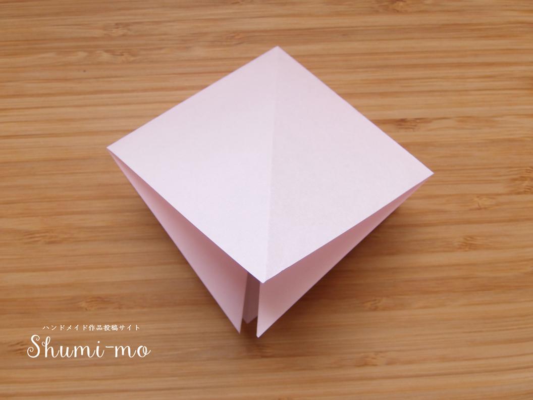 折り鶴カードスタンド8