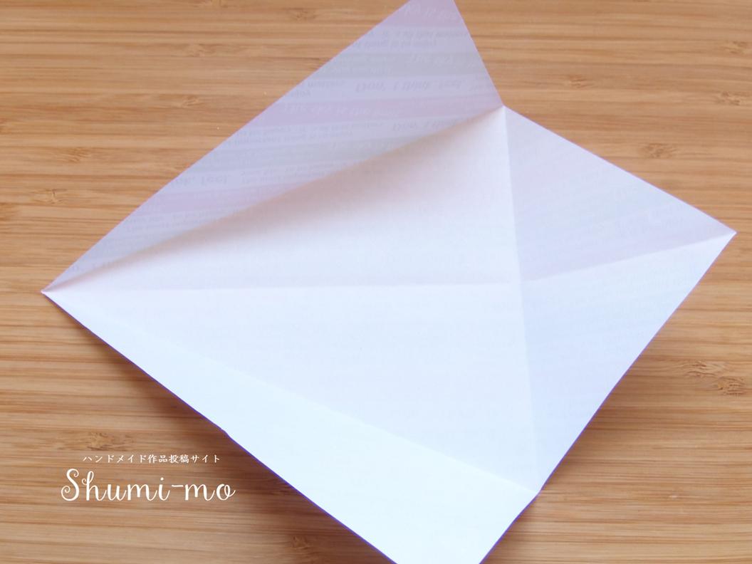 折り紙桜のお皿5