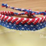 アメリカ国旗ミサンガ3