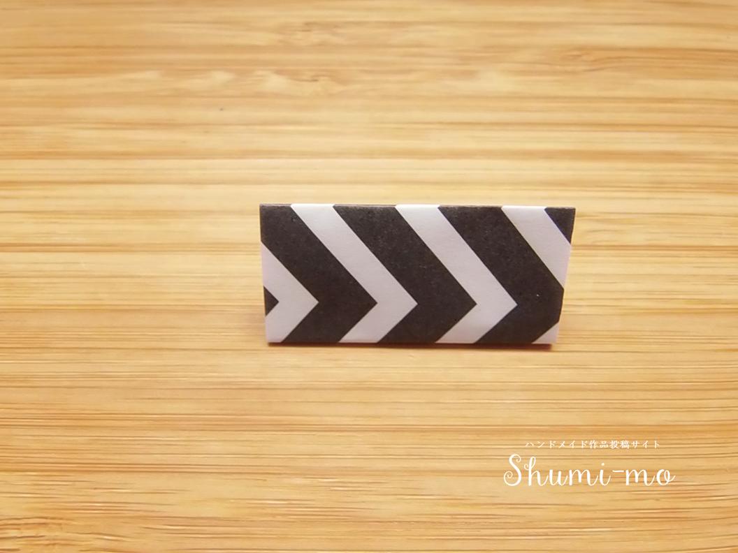 折り紙ロゼットの作り方11