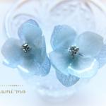 花びら二重のあじさいレジンピアスの作り方18
