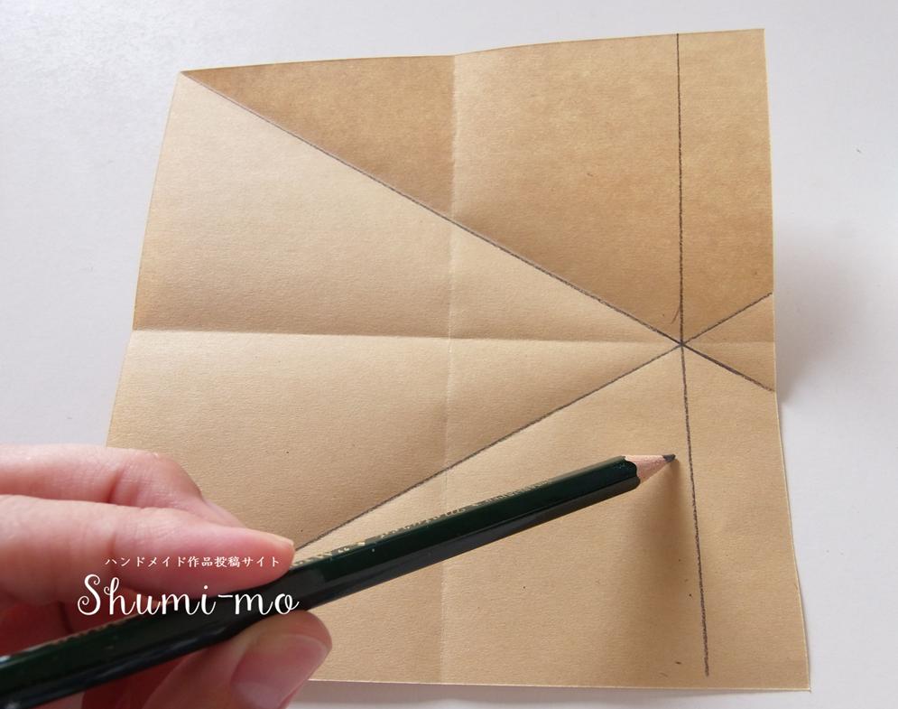 折り紙三角ボックス6