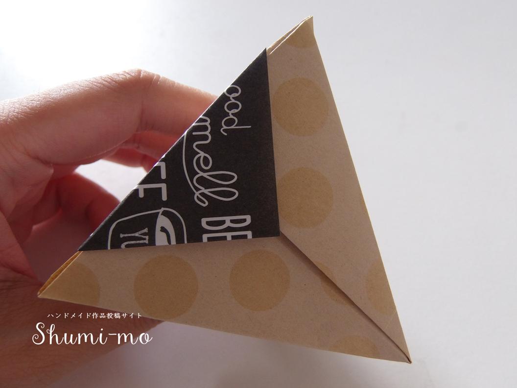 折り紙三角ボックス27