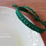 ドットミサンガの編み方